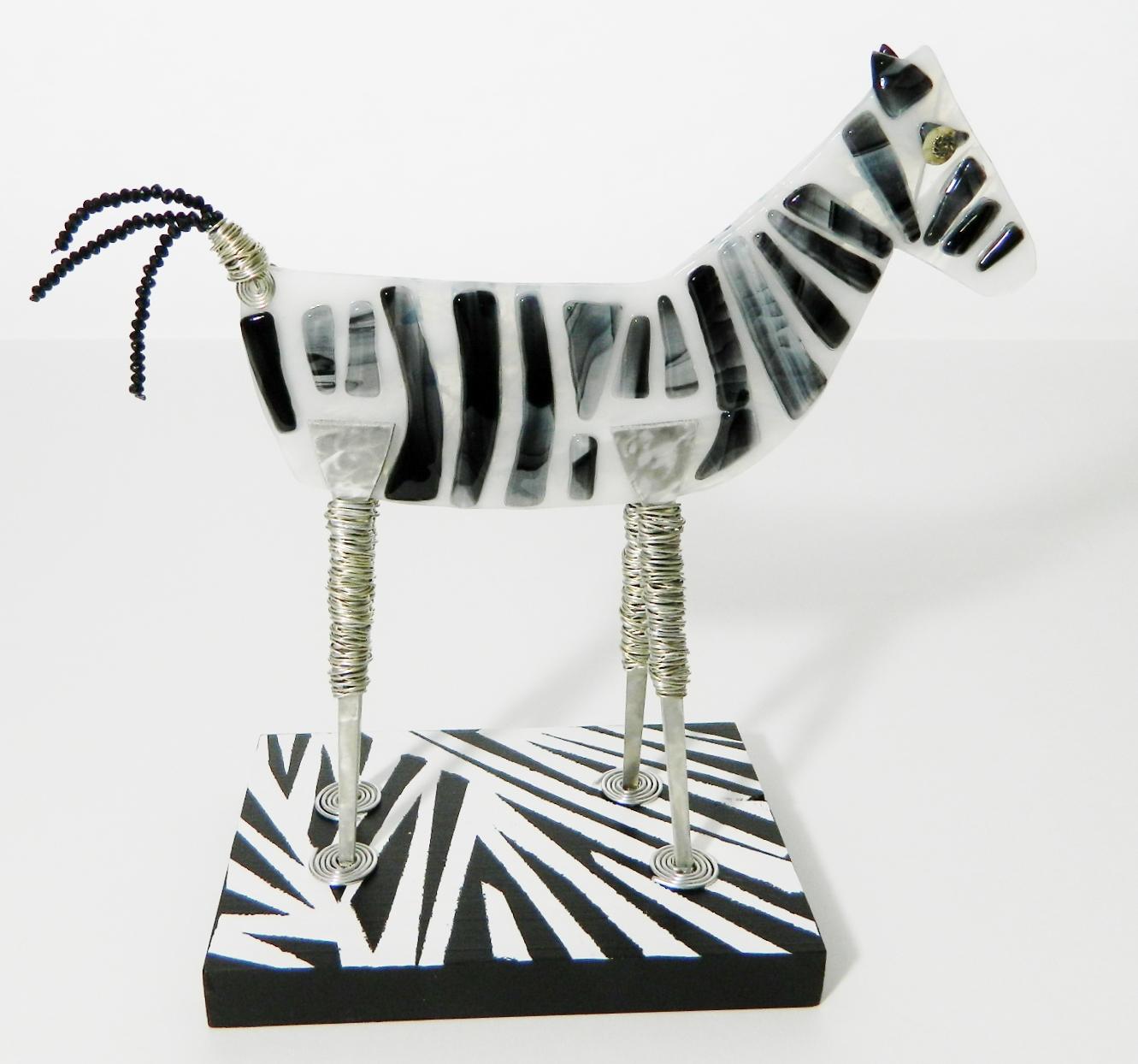 Introducing Dallas the zebra.