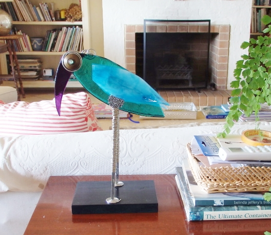 The Bird of Paradise in her new sea-side home