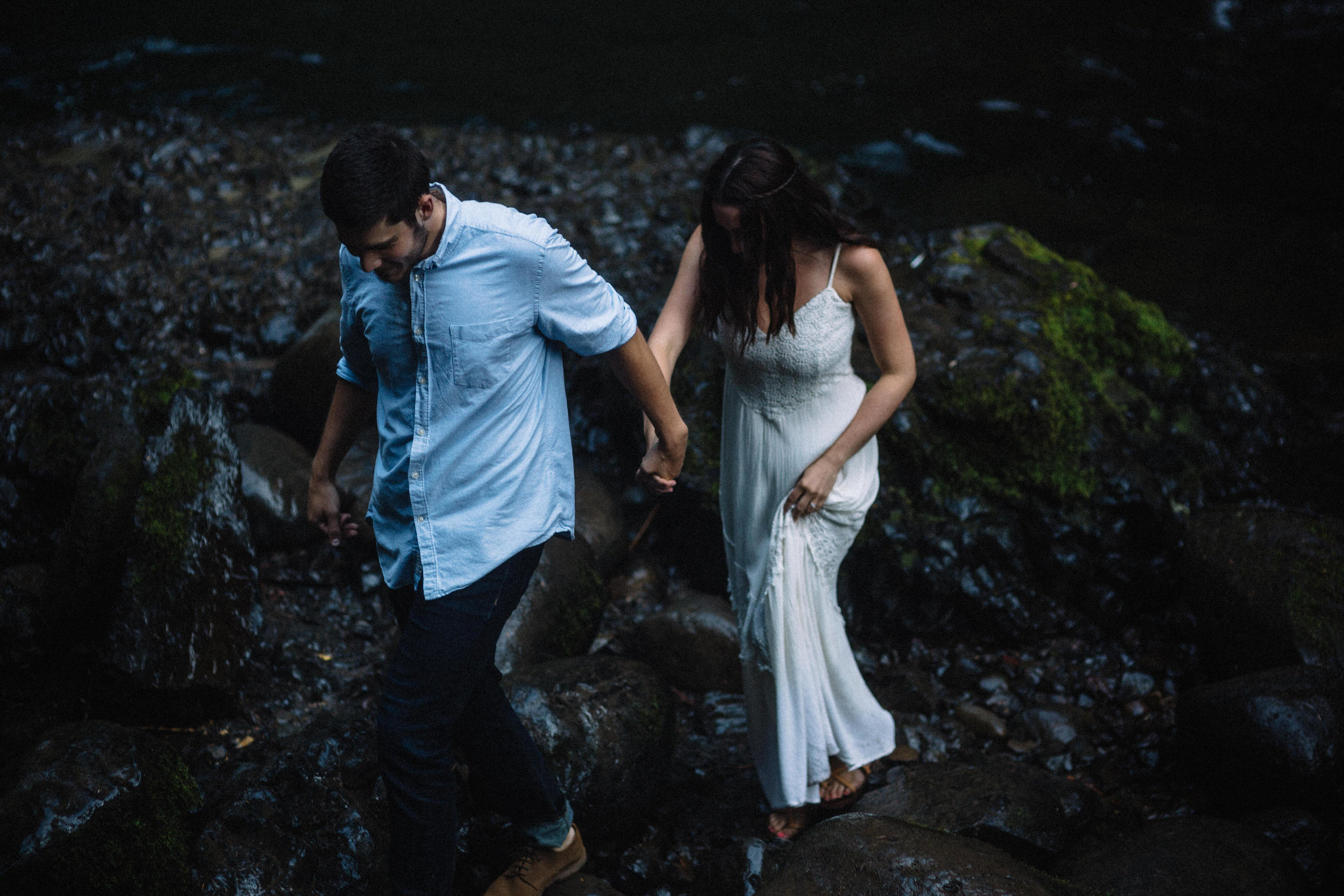 Wahclella falls portland oregon engagement photographer017.JPG