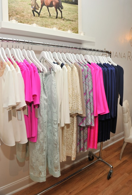A view of Ariana's collection.
