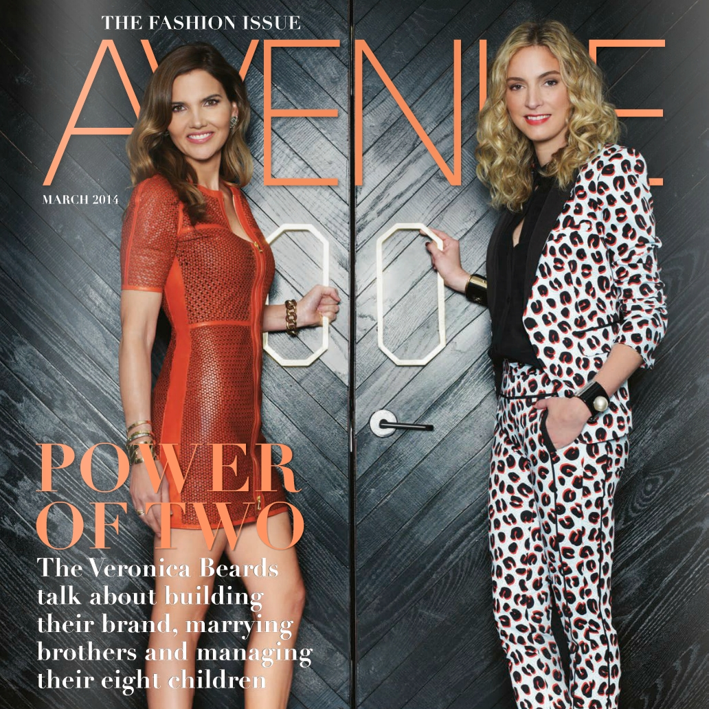 Veronica Beard, Avenue Magazine