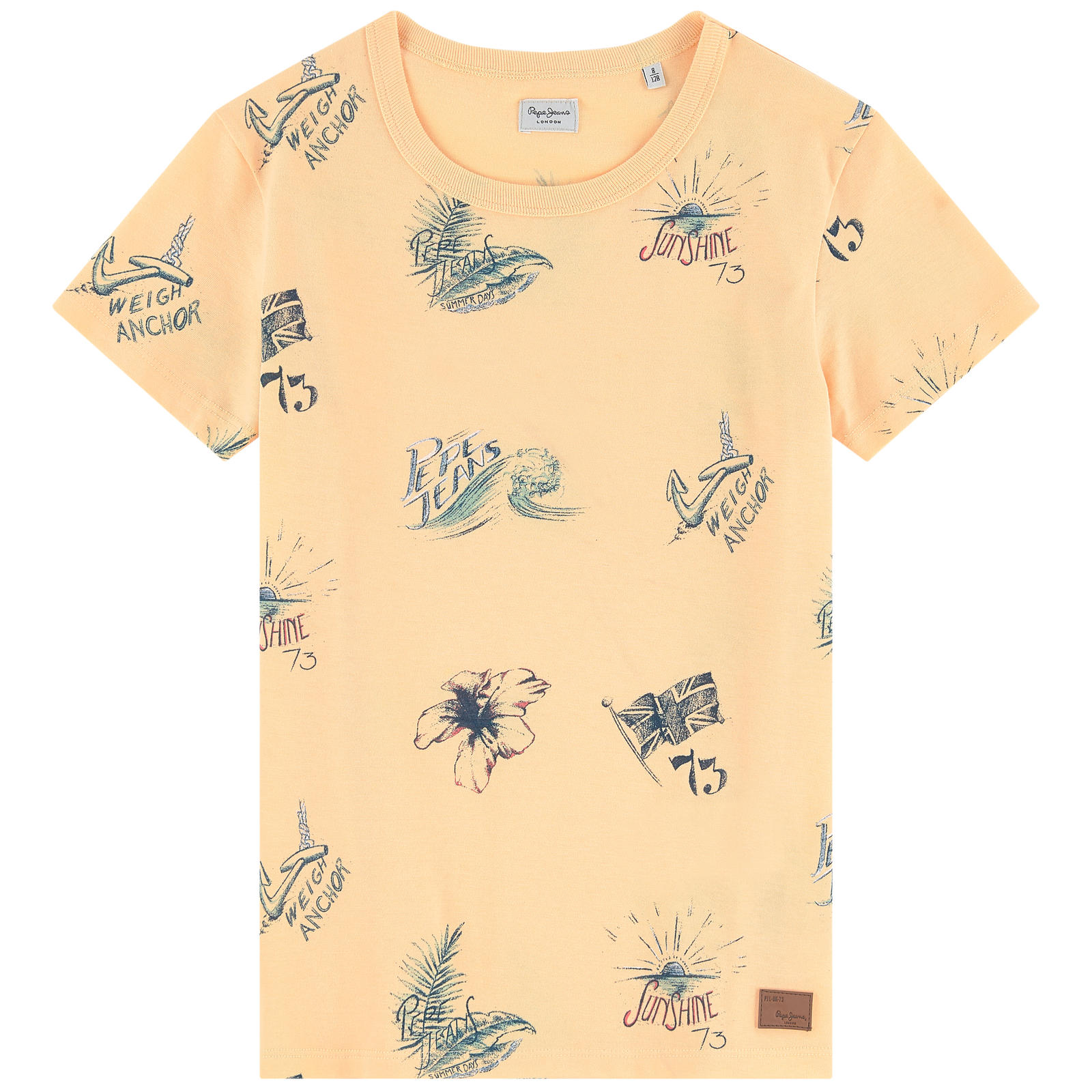 Your little rascal will look cool in this graphic and festive tee throughout the summer. - Pepe Jeans graphic t-shirt                                 melijoe.com                                                           $22.40