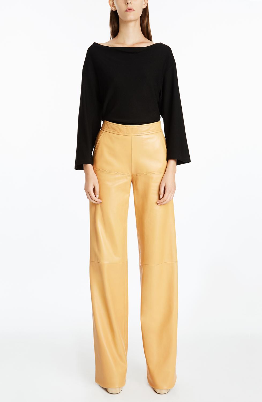 Derek Lam Leather Trousers