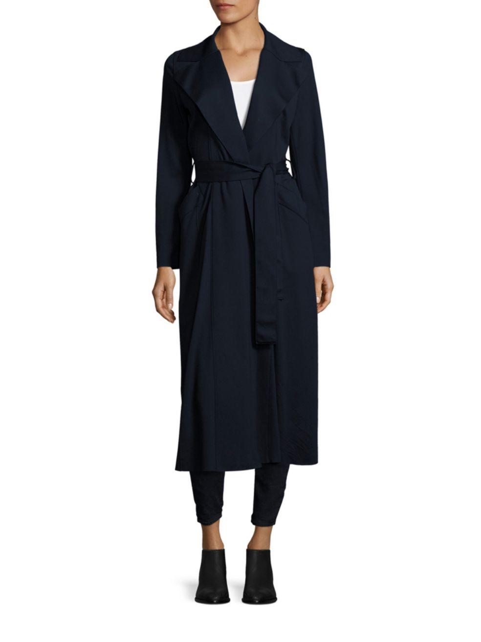 Harris Wharf London Solid Duster Coat