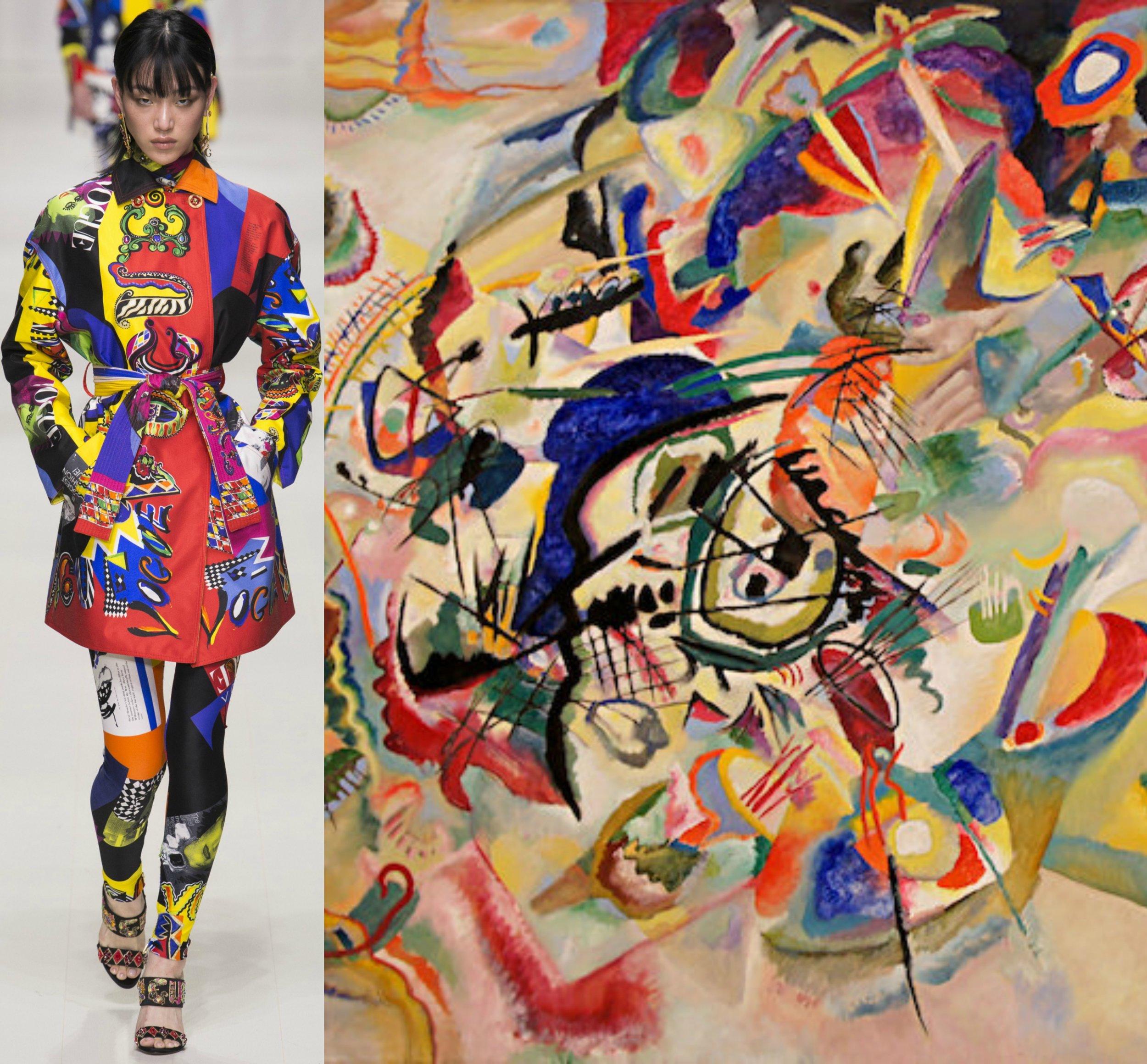 Versace - Wassily Kandinsky