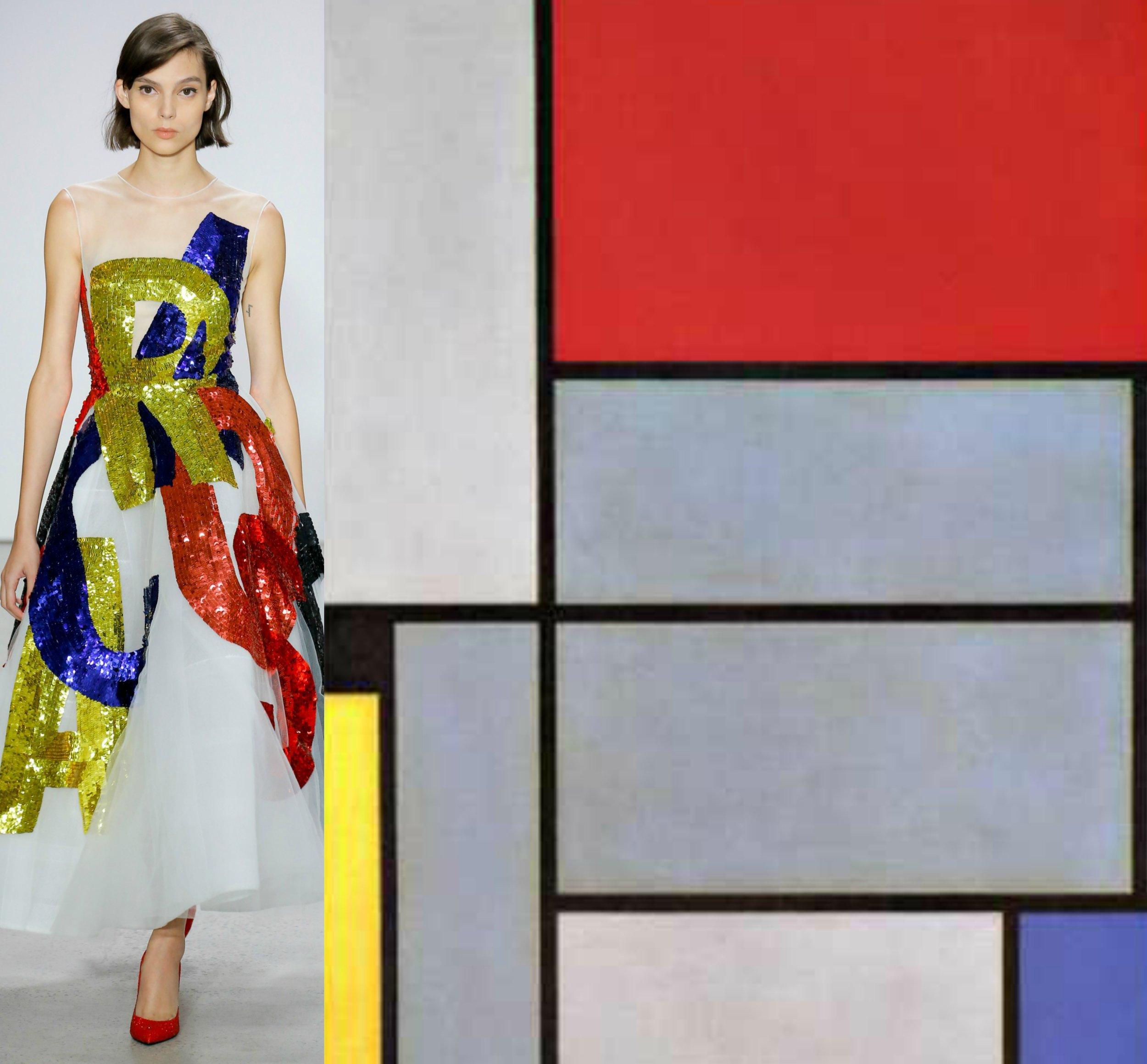 Oscar de la Renta - Piet Mondrian