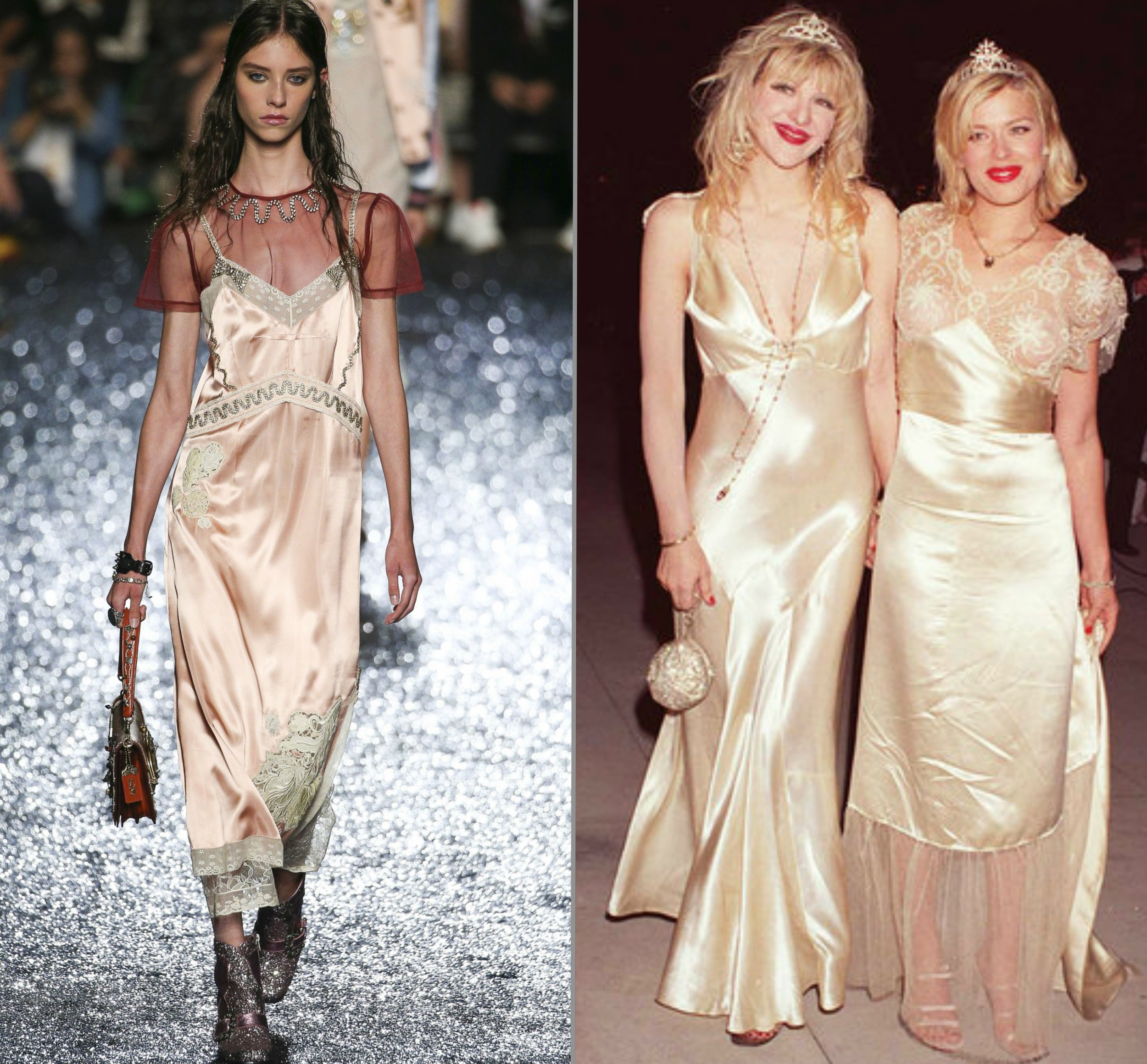 Coach 1941 SS18 | Courtney Love & Amanda de Cadenet 1995