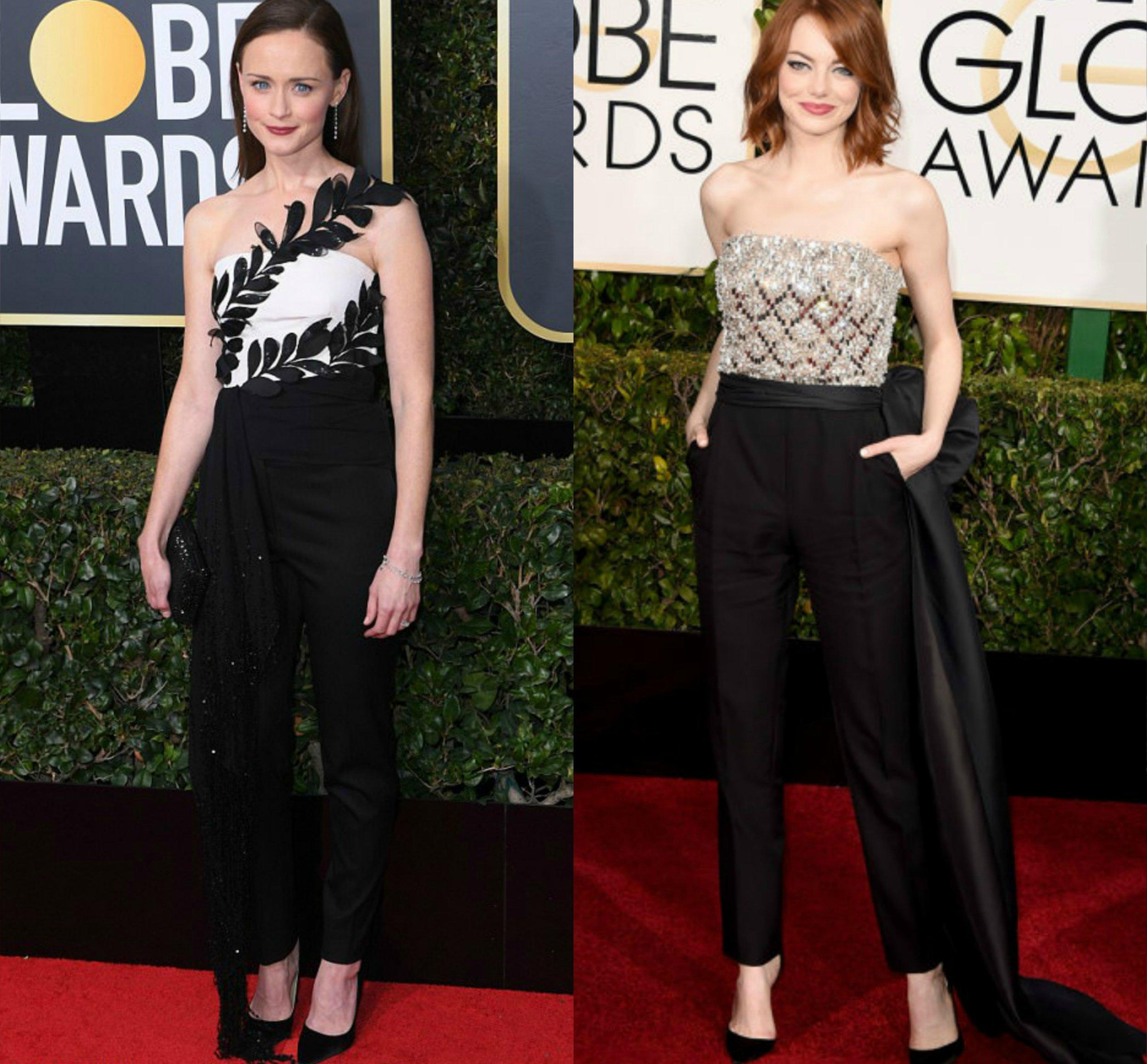 Alexis Bledel- Oscar de la Renta 2018 | Emma Stone- Lanvin 2015