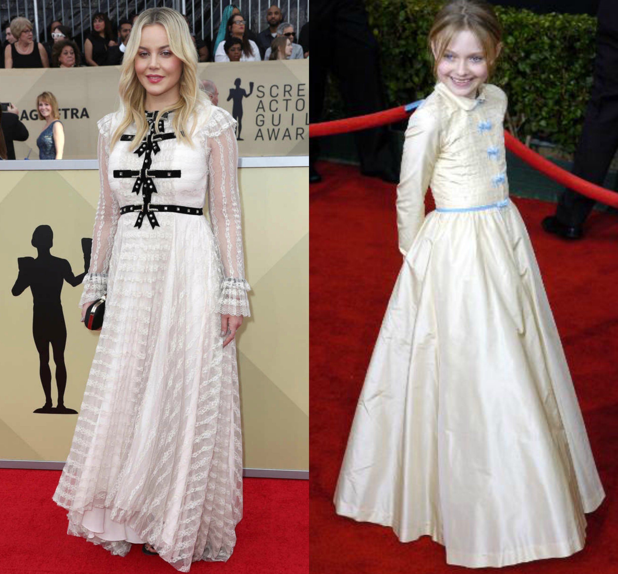 Abbie Cornish 2018 | Dakota Fanning 2006