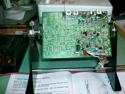 Phase 3 complete (Transmitter Mixer and 10.1Mhz Bandpass Filter)