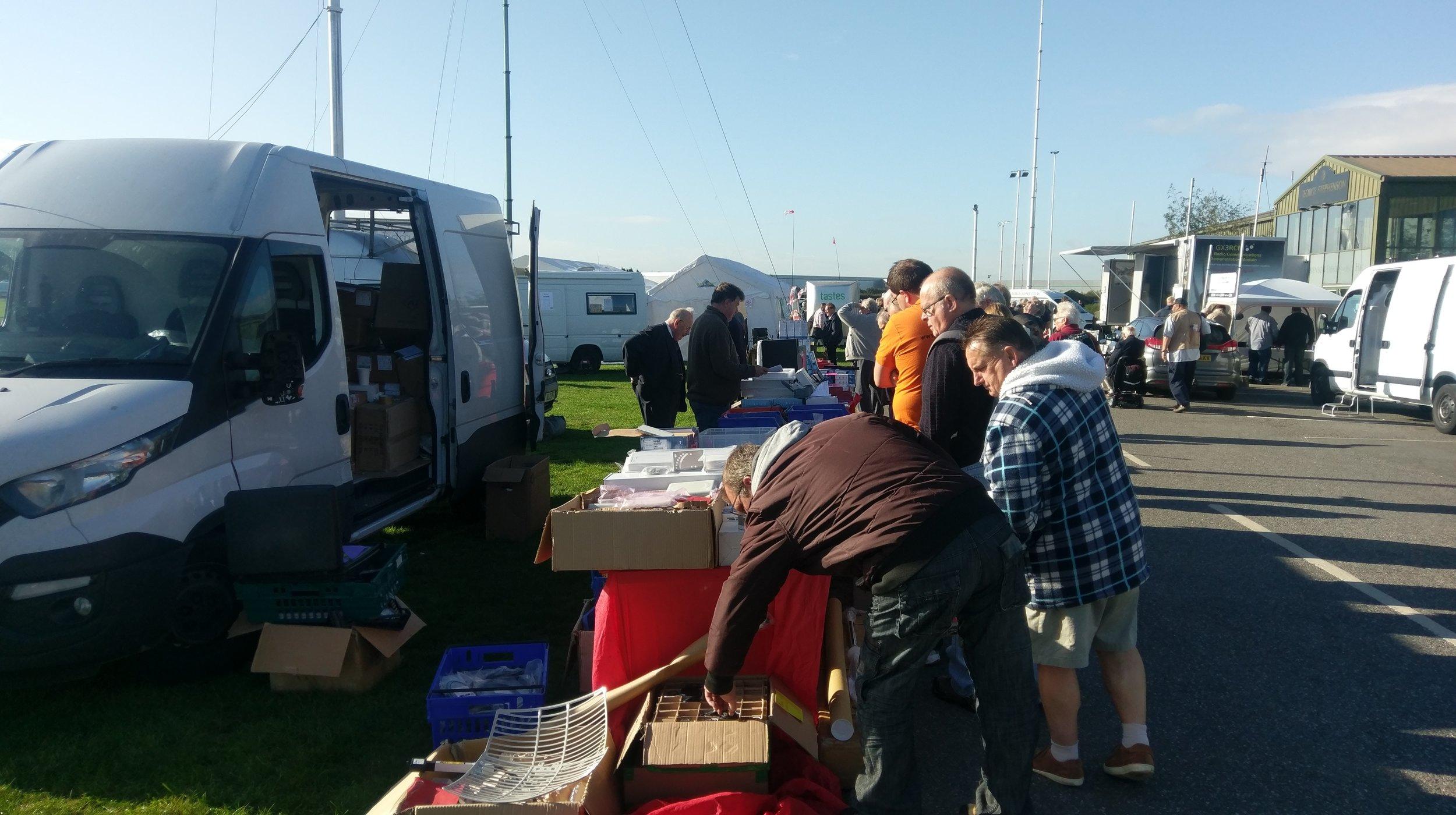 Flea Market at Hamfest