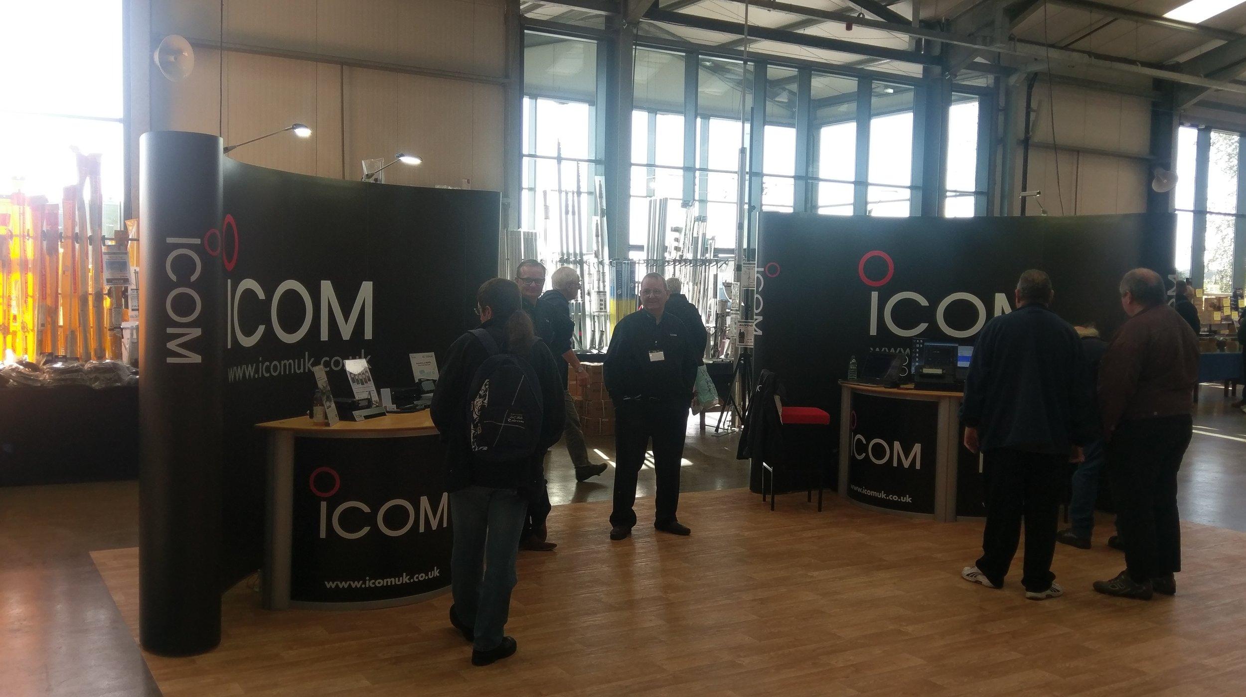 Icom are attending UK Hamfest