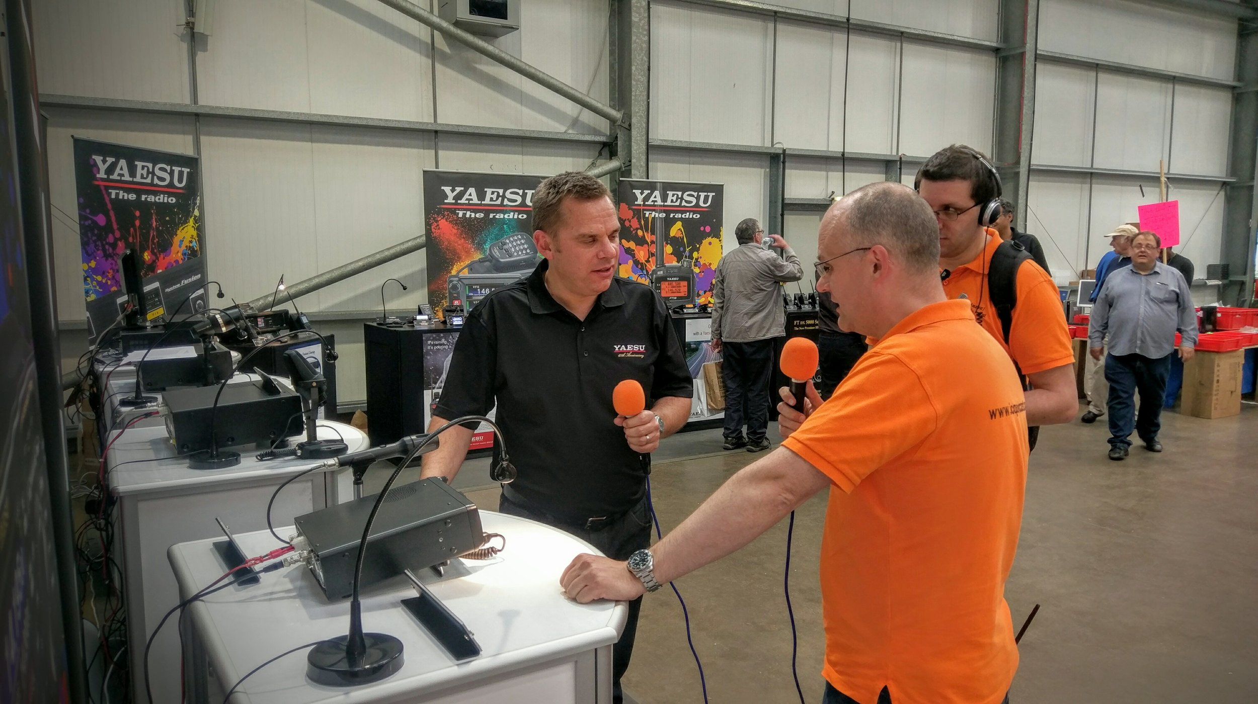 Chris Howard (M0TCH) interviews Dean Croome of Yaesu