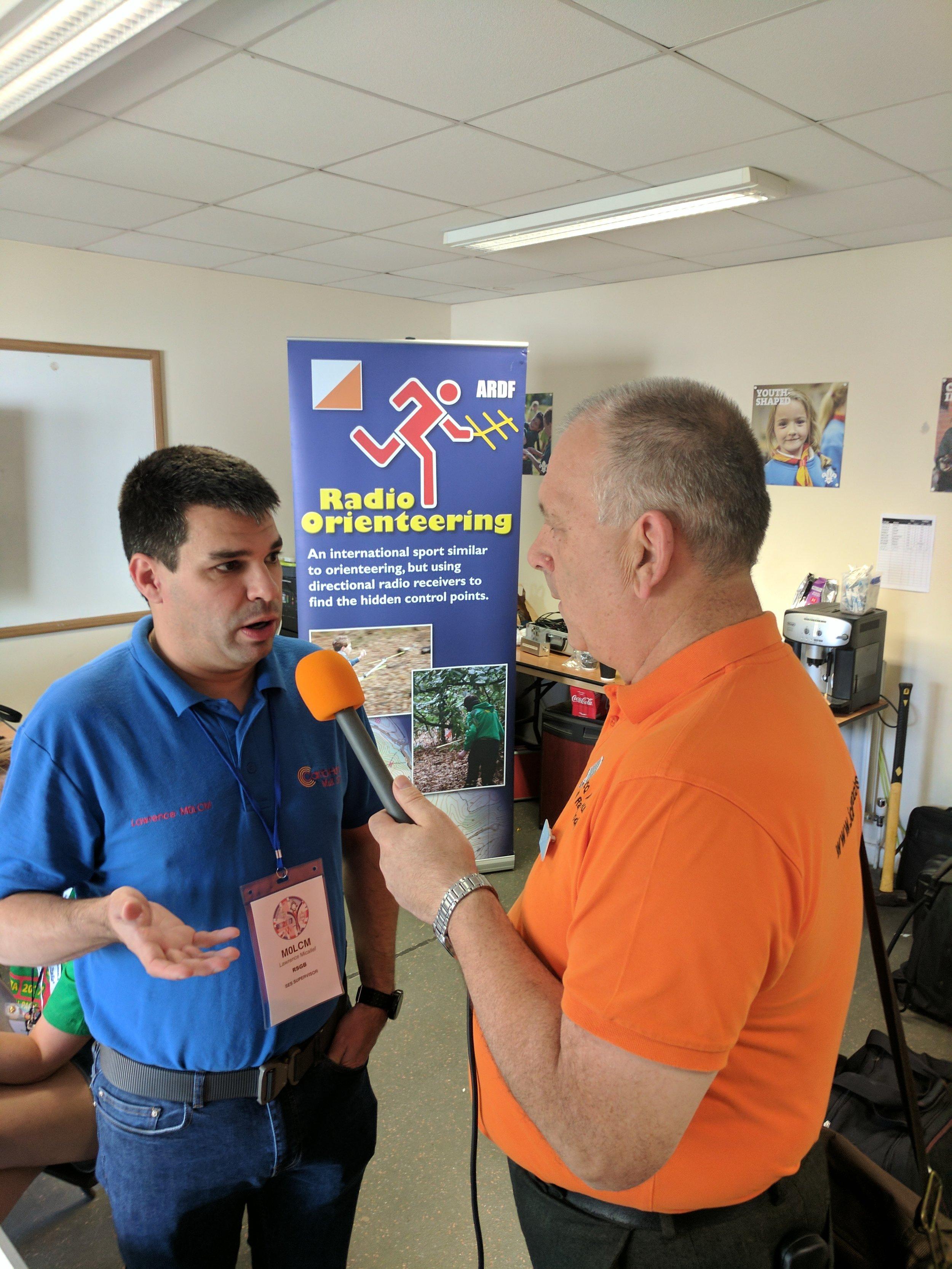 Martin Butler M1MRB/W9ICQ interviews M0LCN