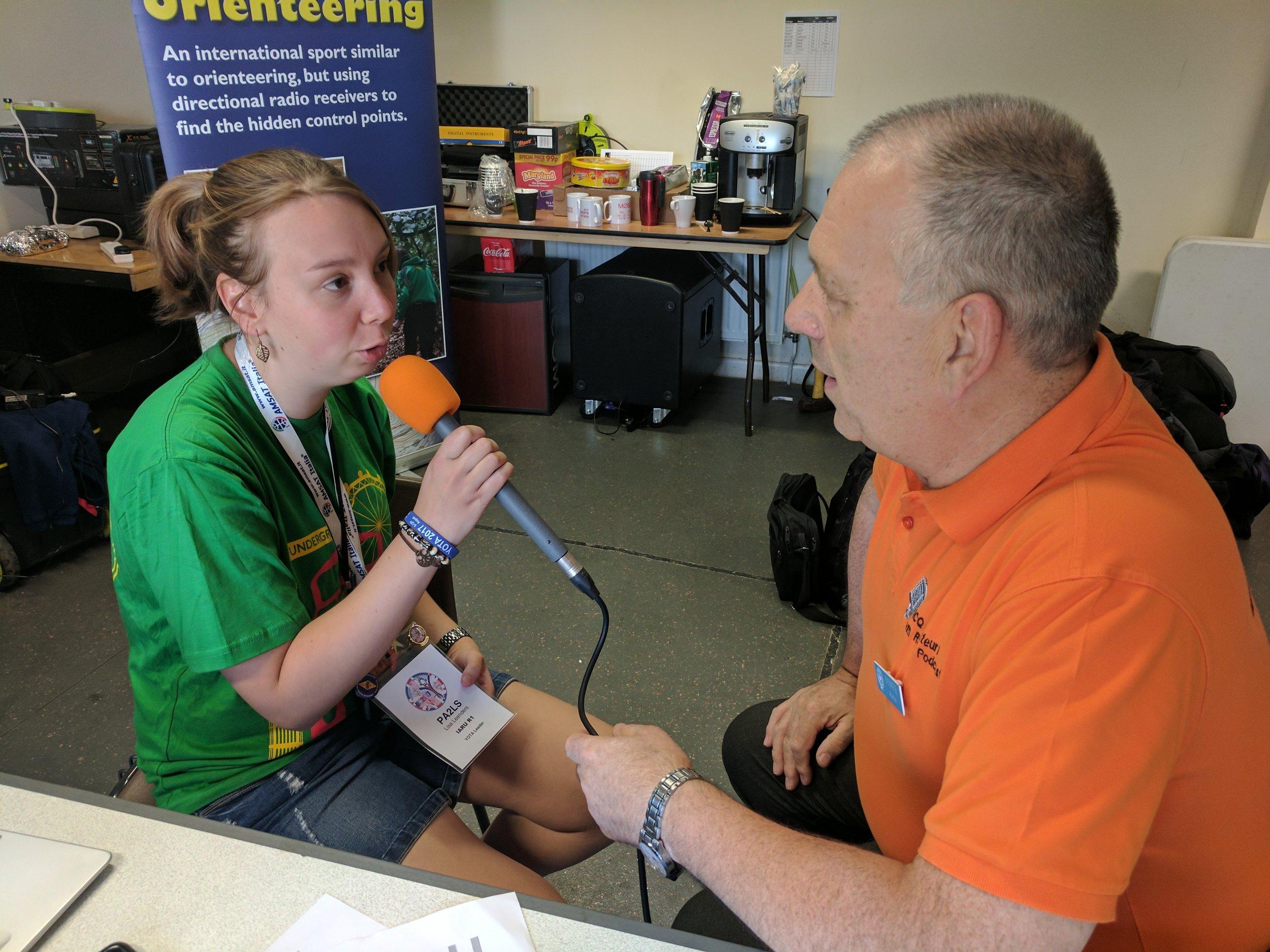 Martin Butler M1MRB/W9ICQ interviews PA2LS
