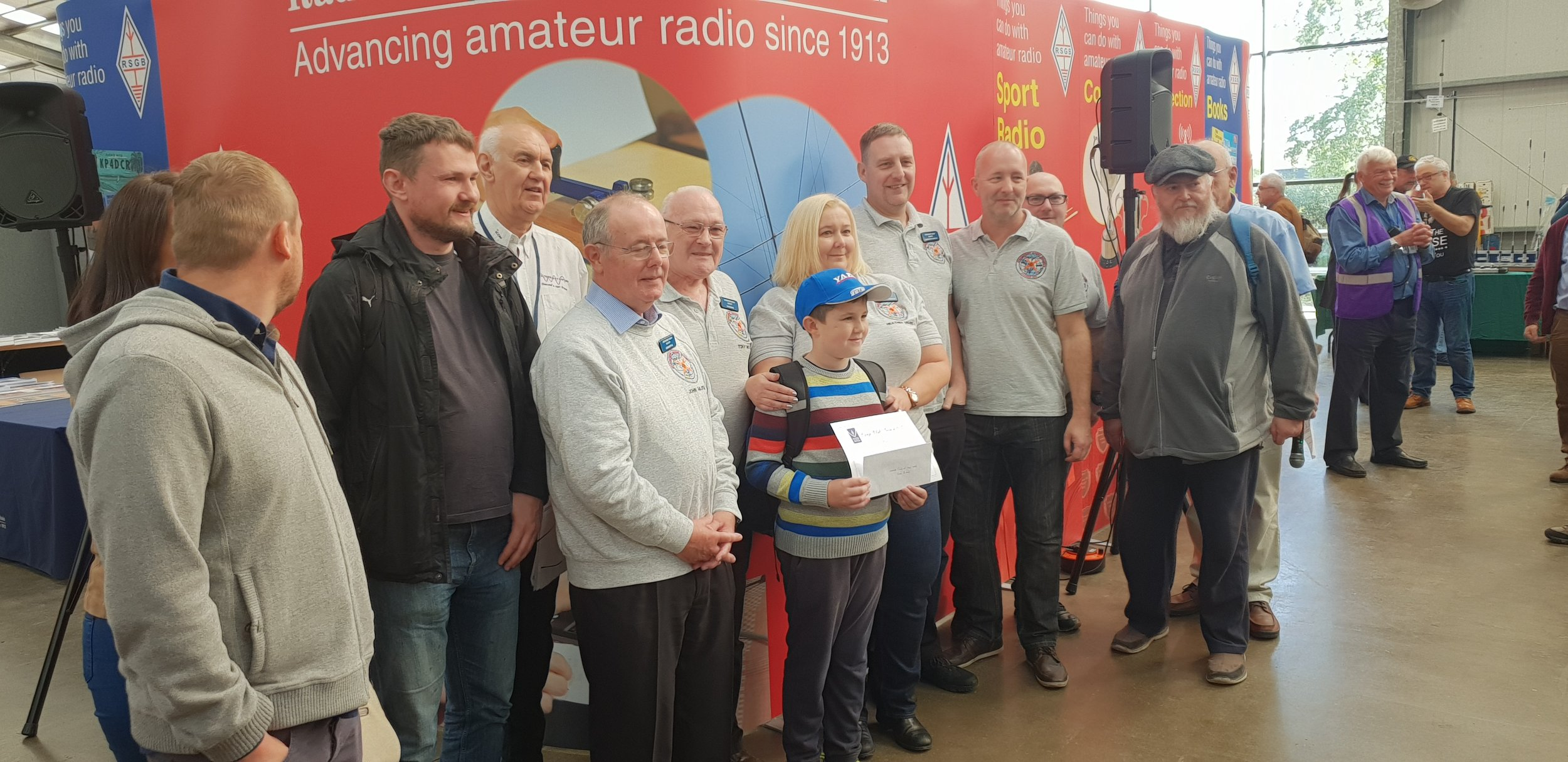 RSGB 2017 Club of the Year Awards 3rd place large clubs stockport radio club