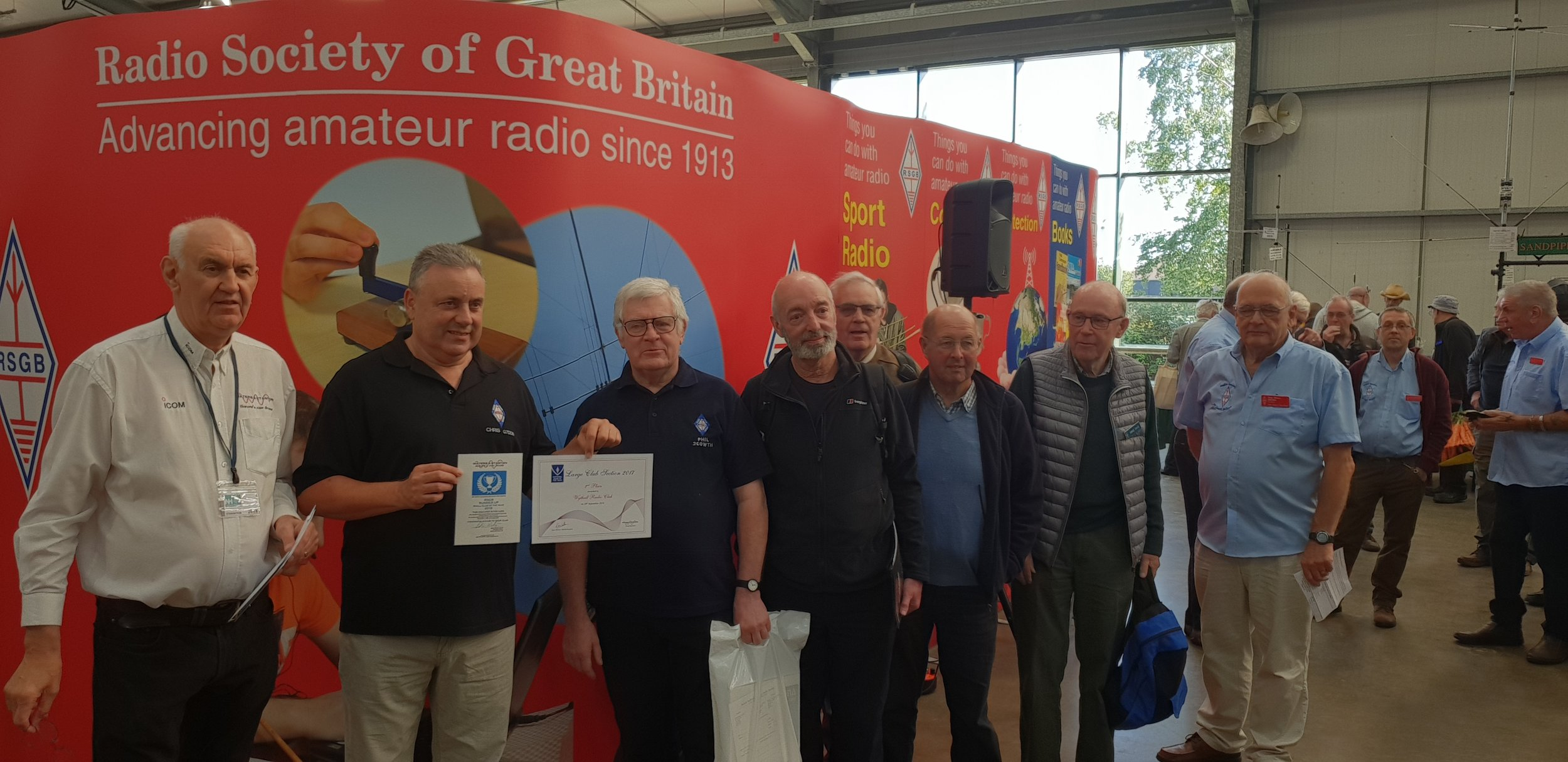 RSGB Club of the Year 2018 Large Clubs 2nd Place Wythall Radio Club.jpg
