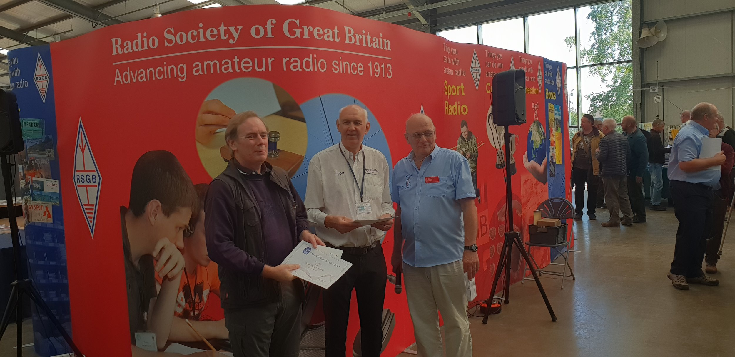 RSGB Club of the Year 2017 Small Clubs 2nd Place South Bristol ARC.jpg