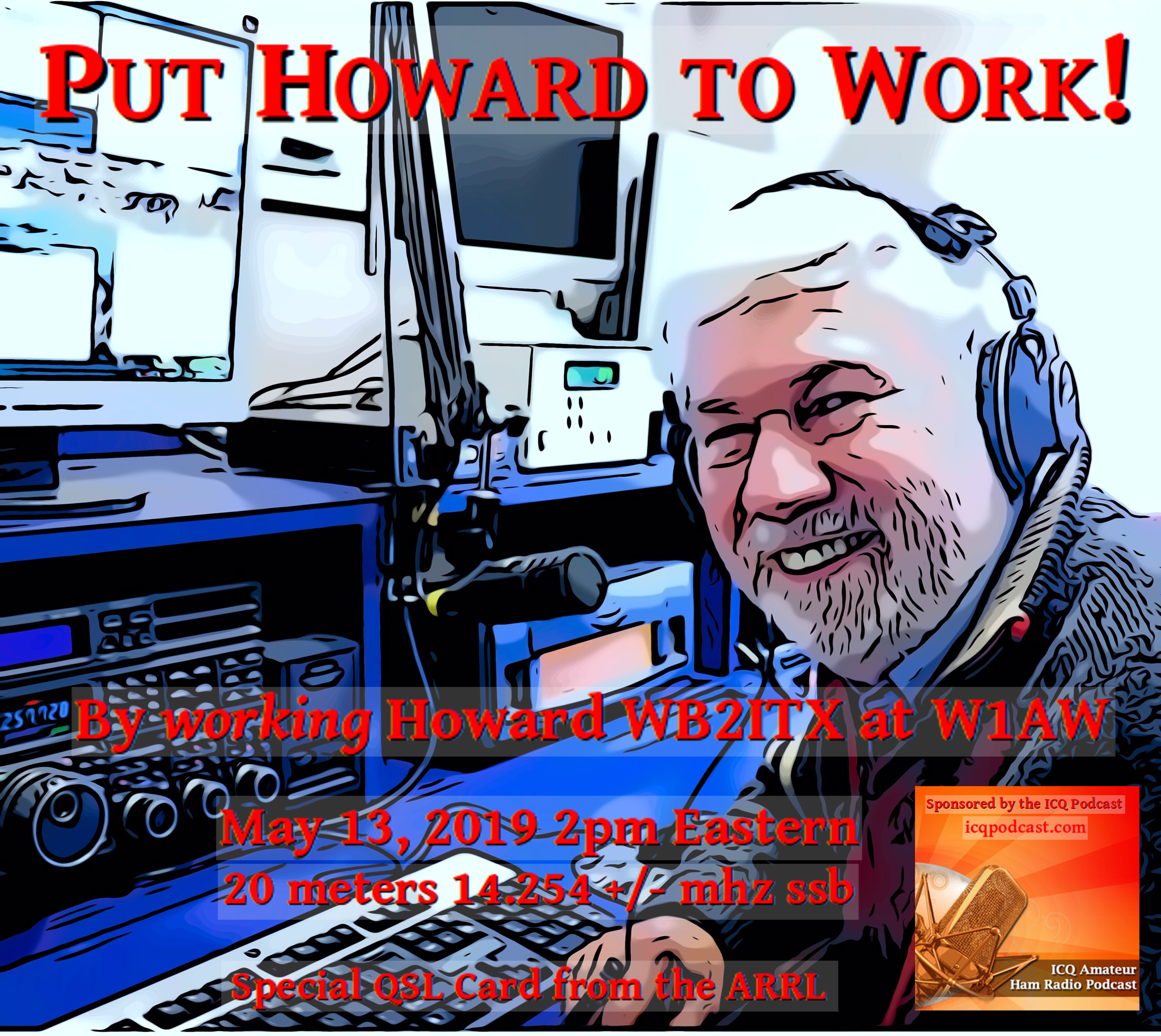 ICQPodcast Event : Work ARRL CEO Howard Michel.png