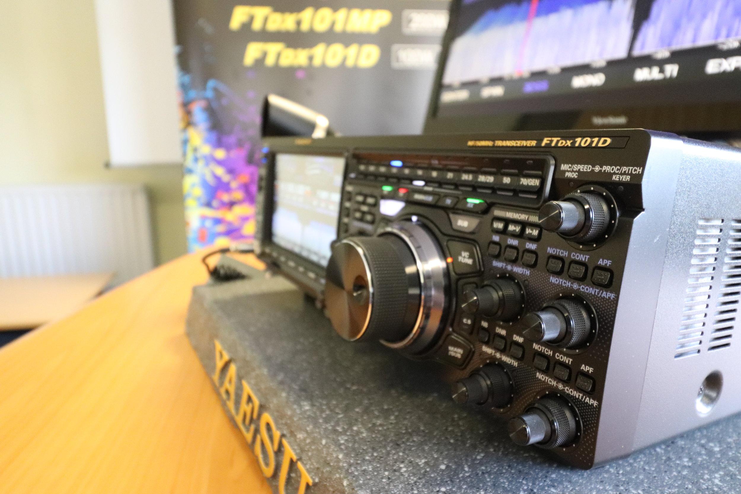 Yaesu FT DX 101D Released Today — ICQ Amateur / Ham Radio Podcast