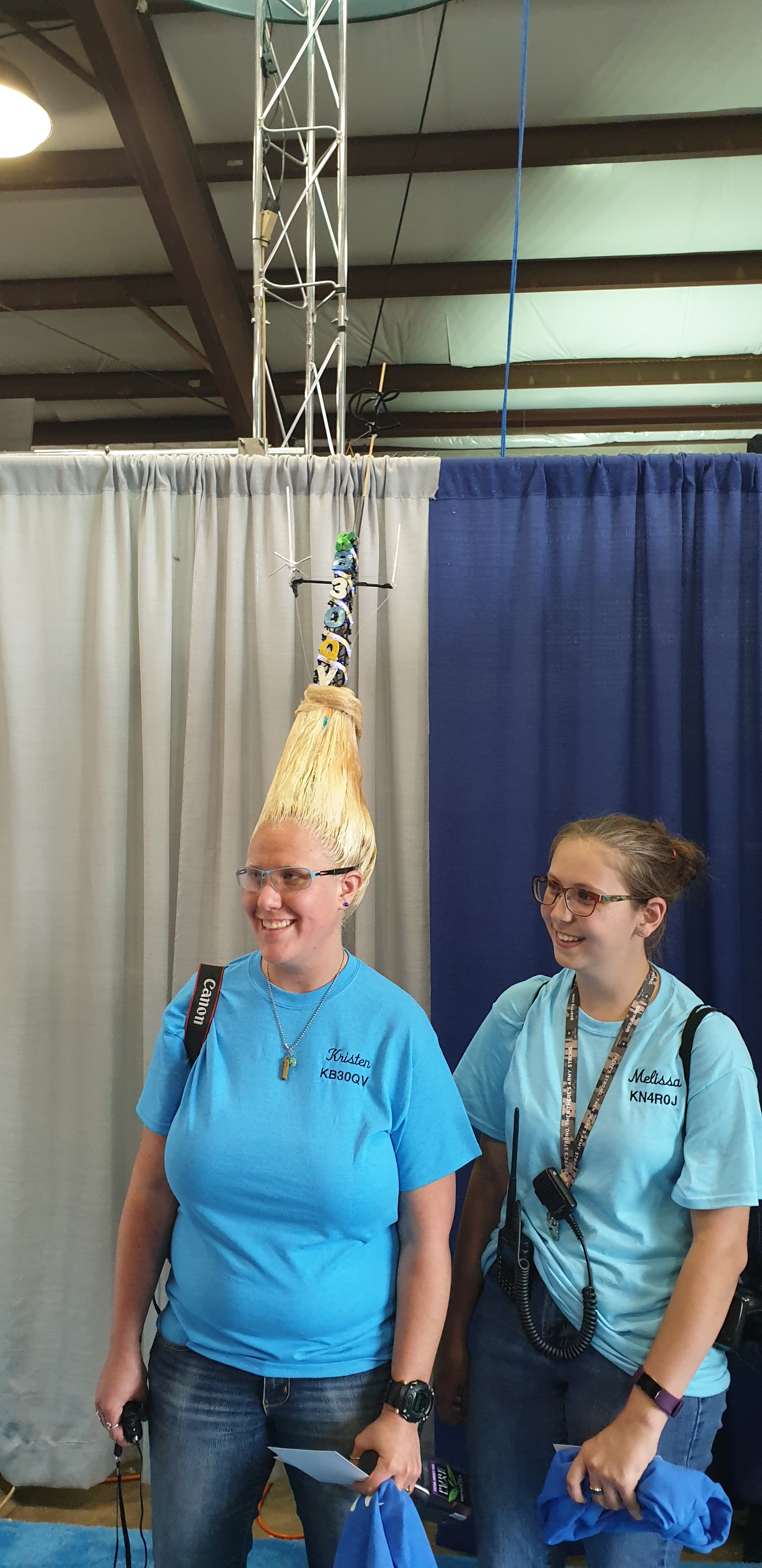 The Best Hair Style at Hamvention 2019