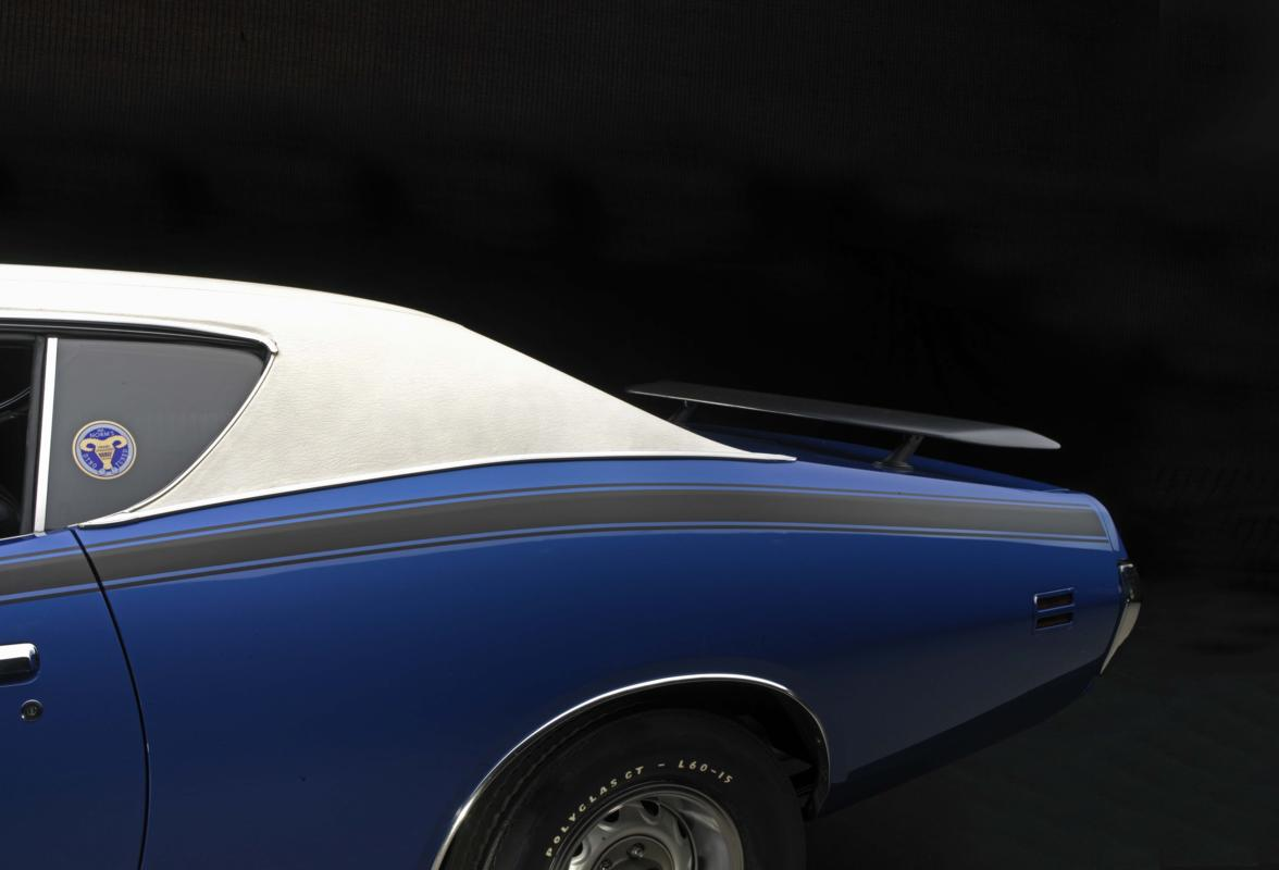 Blue Super Bee pillar and wing detail.jpg