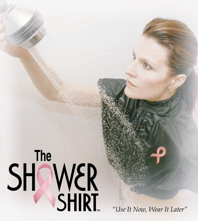 The Shower Shirt.  Click Here.