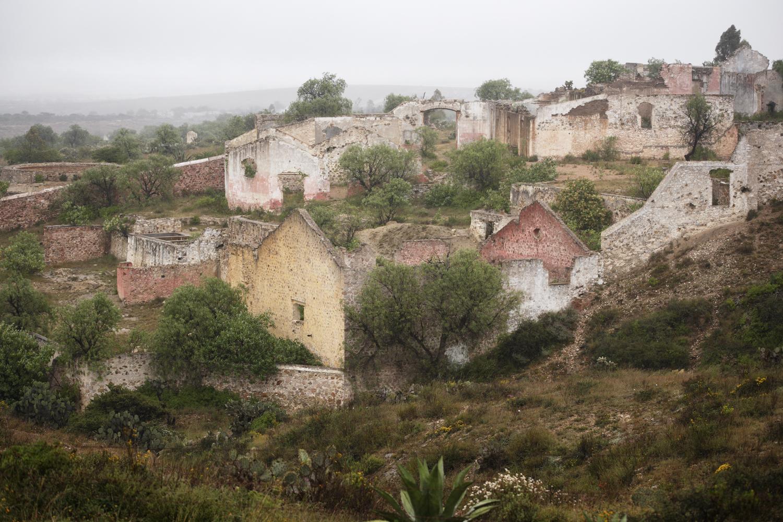 Mining Compound:  Pozos, MX