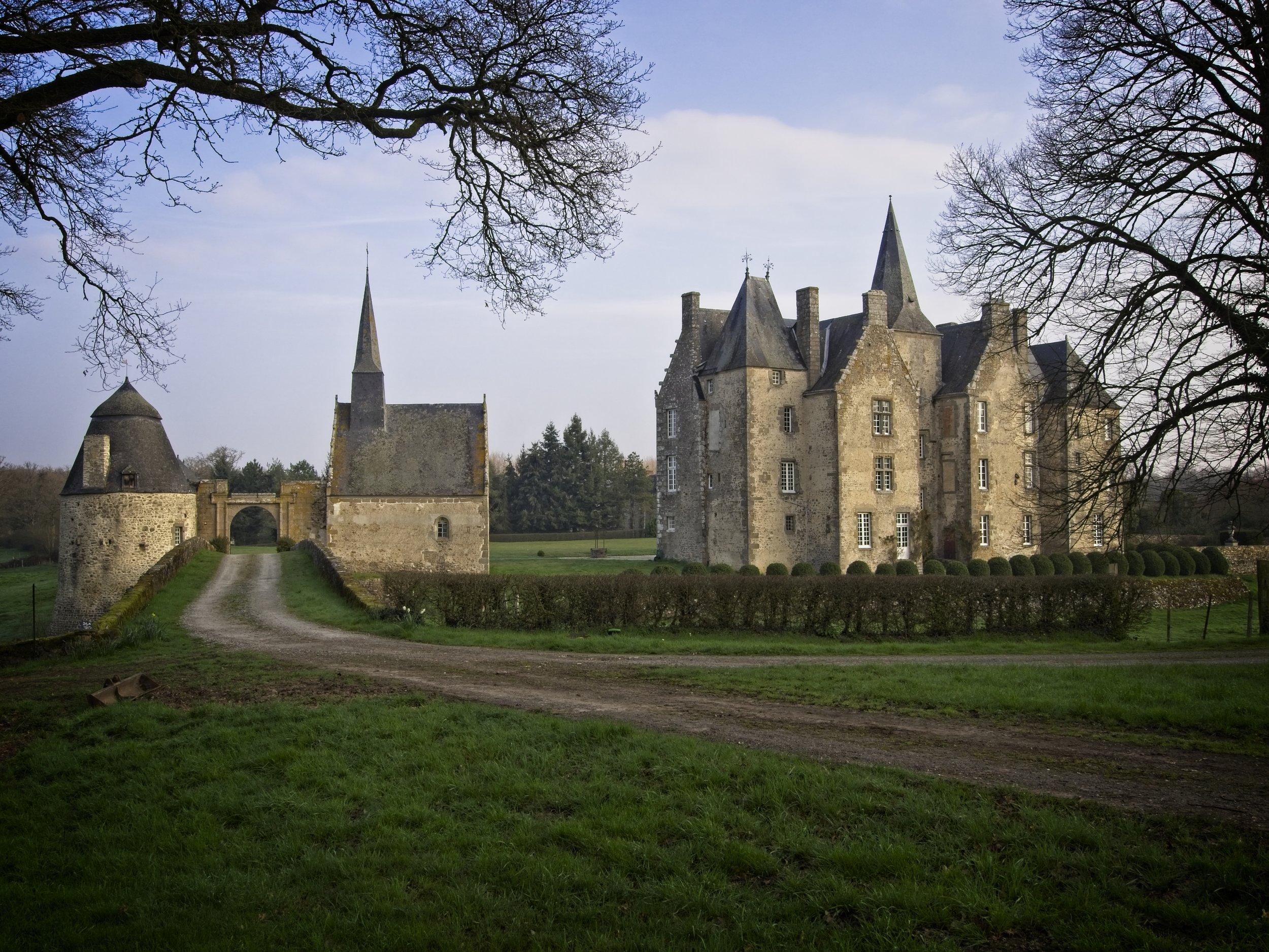 Montourtier, France  - Chateau de Bourgon