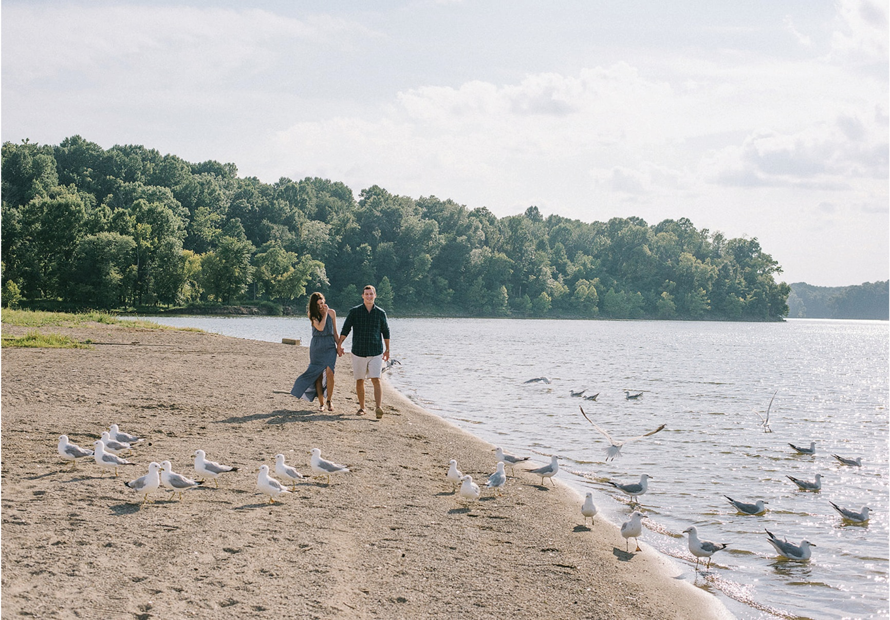 East Fork Lake Park Engagement Session