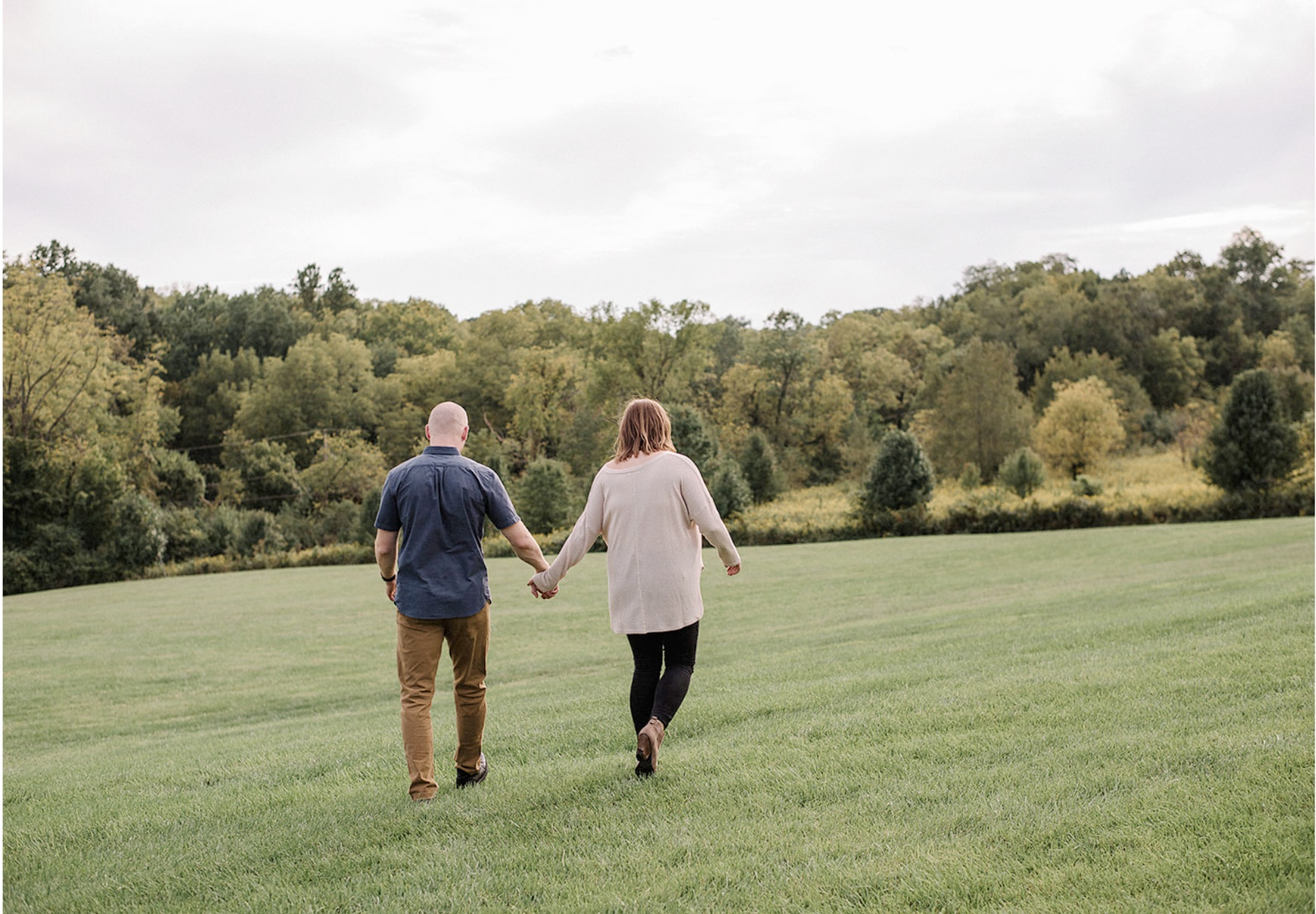 French Park engagement session
