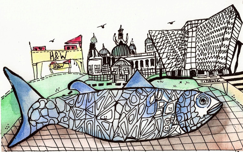 """""""Belfast Landmarks"""" (2014)"""