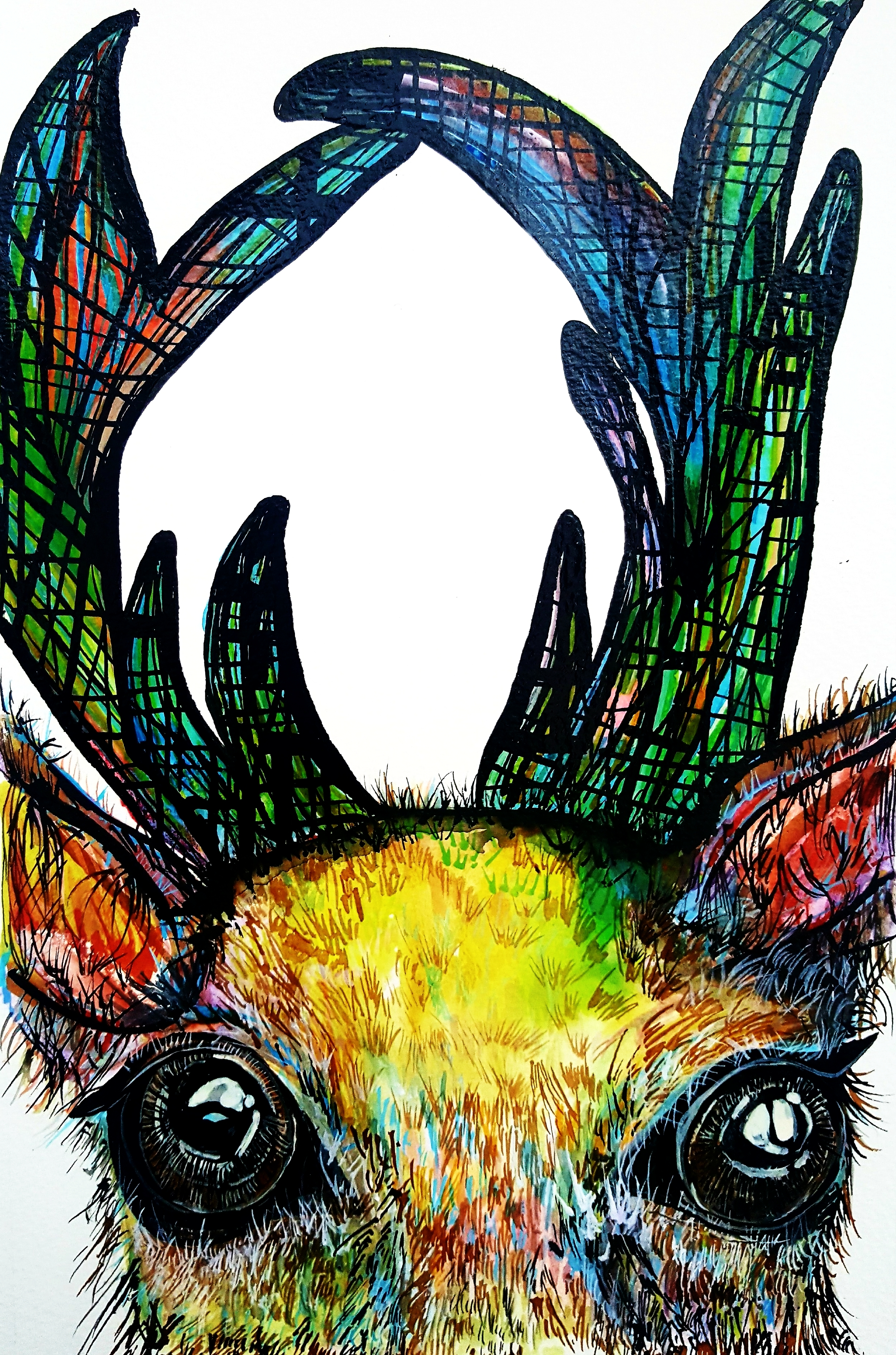 """""""The Stag of Skye"""" (2017)"""