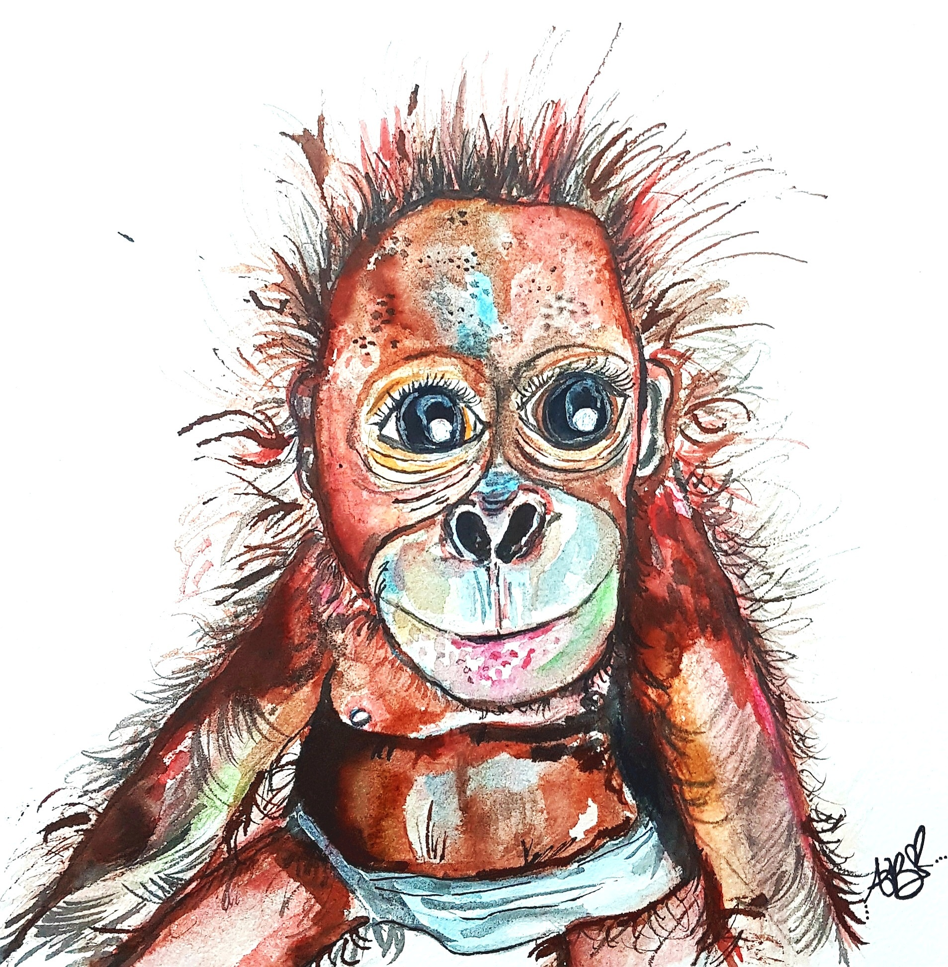"""Ottis"" - The Baby Orangutan (2019)"