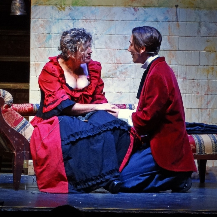 Penny Smith and Jo Kelly in  Sweeney Todd  (2017)