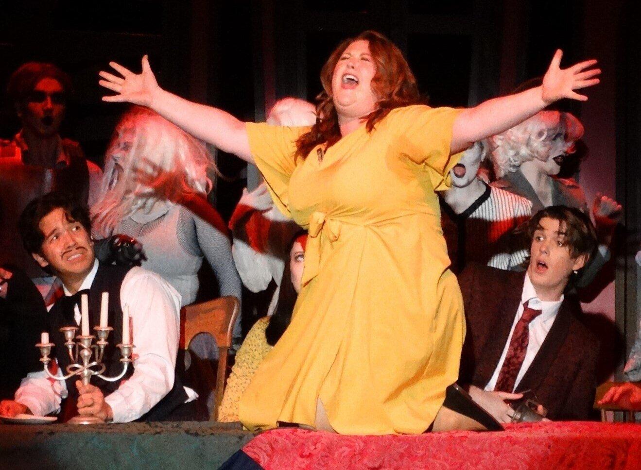 Emma Lynn in  The Addams Family  [SCCAS]
