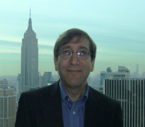 Alan Lyons (foreground)  Empire State Building (background)