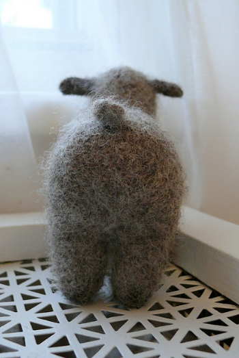 Felt Flock by Bev Galeskas knit by edirks on Ravelry