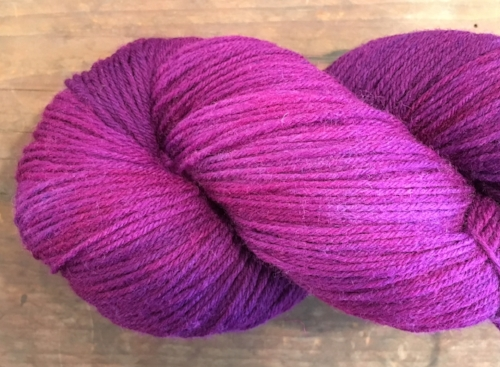 'Porphyra' from Kettle Dyed Sock