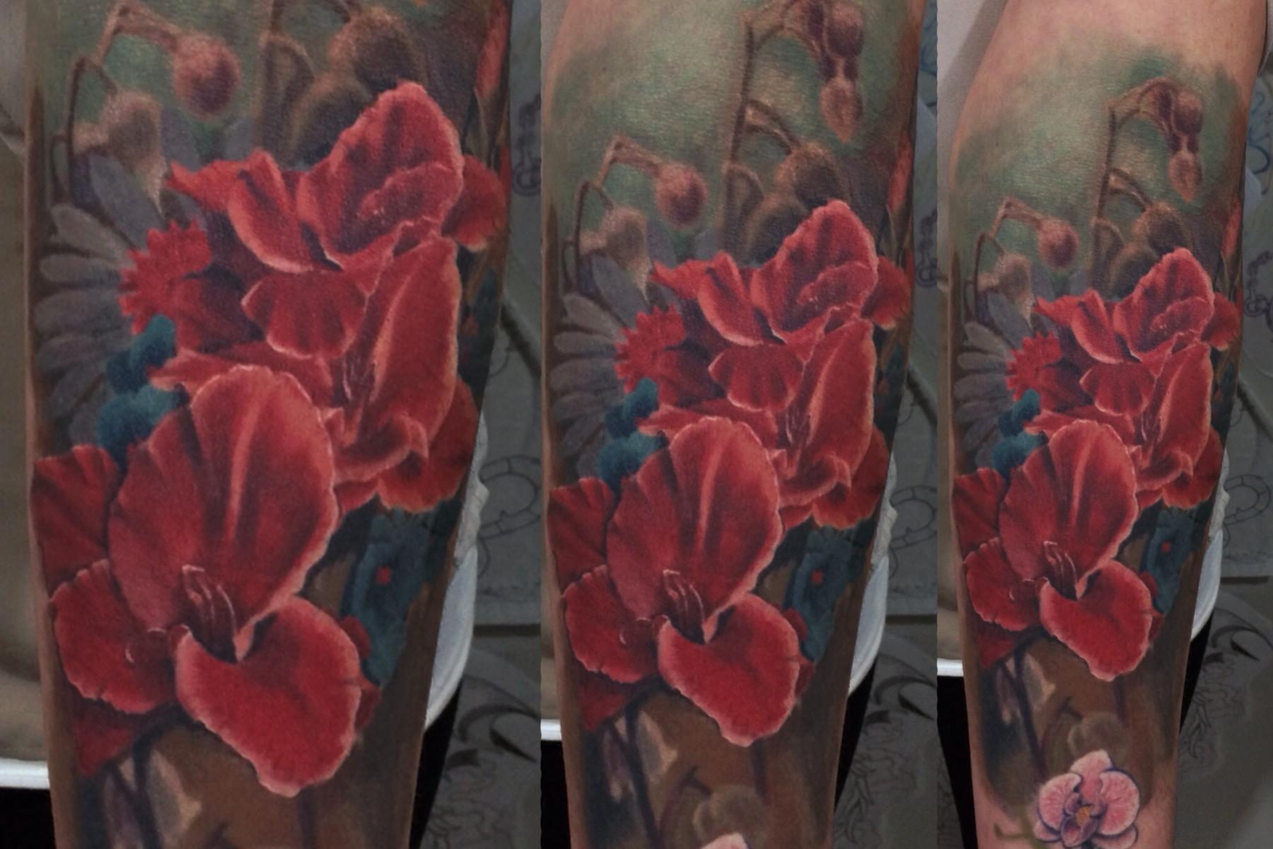 birth of venus tattoo