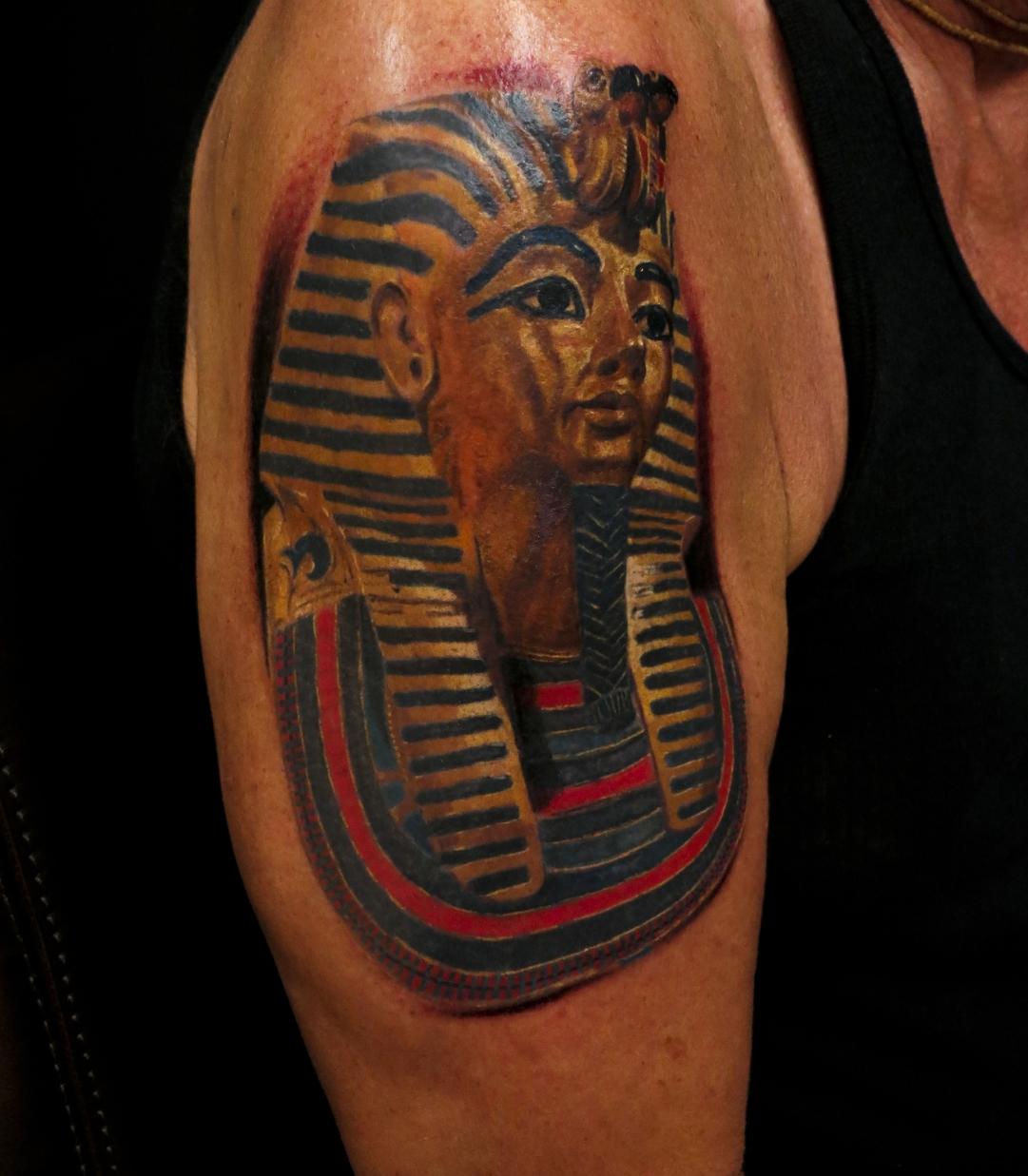 tutankhamun tattoo