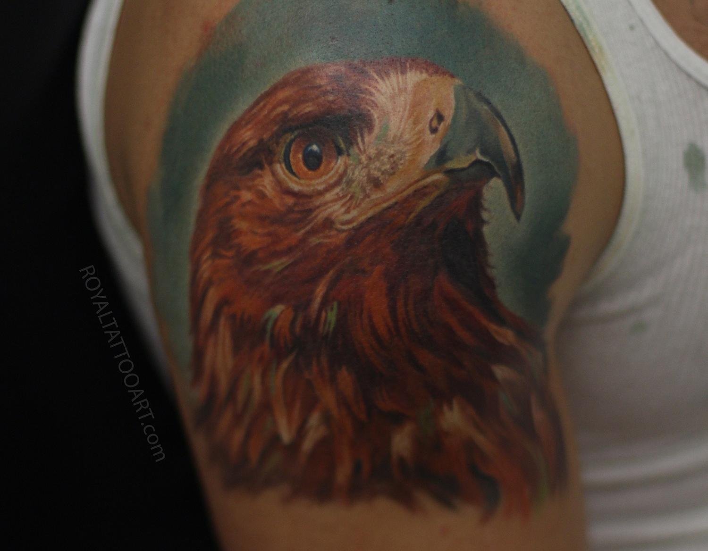 eagle portrait tattoo mexican hawk.jpg
