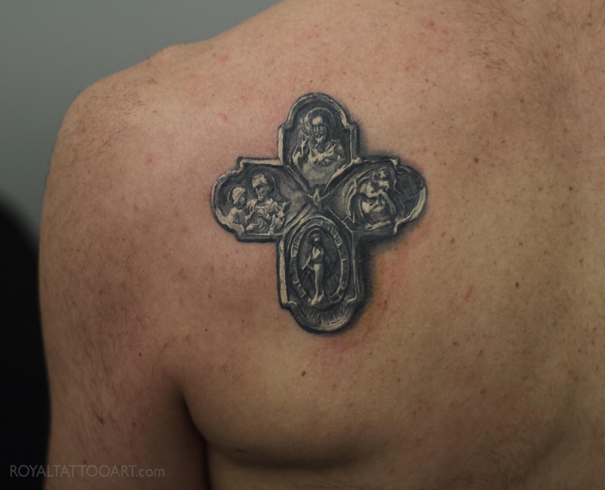 cross_photorealism_realistic_realism_shouder_tattoo_nyc_studio_clean_blackandgray_jesus_religious_eastvillage tattooing royal jafarov.jpg