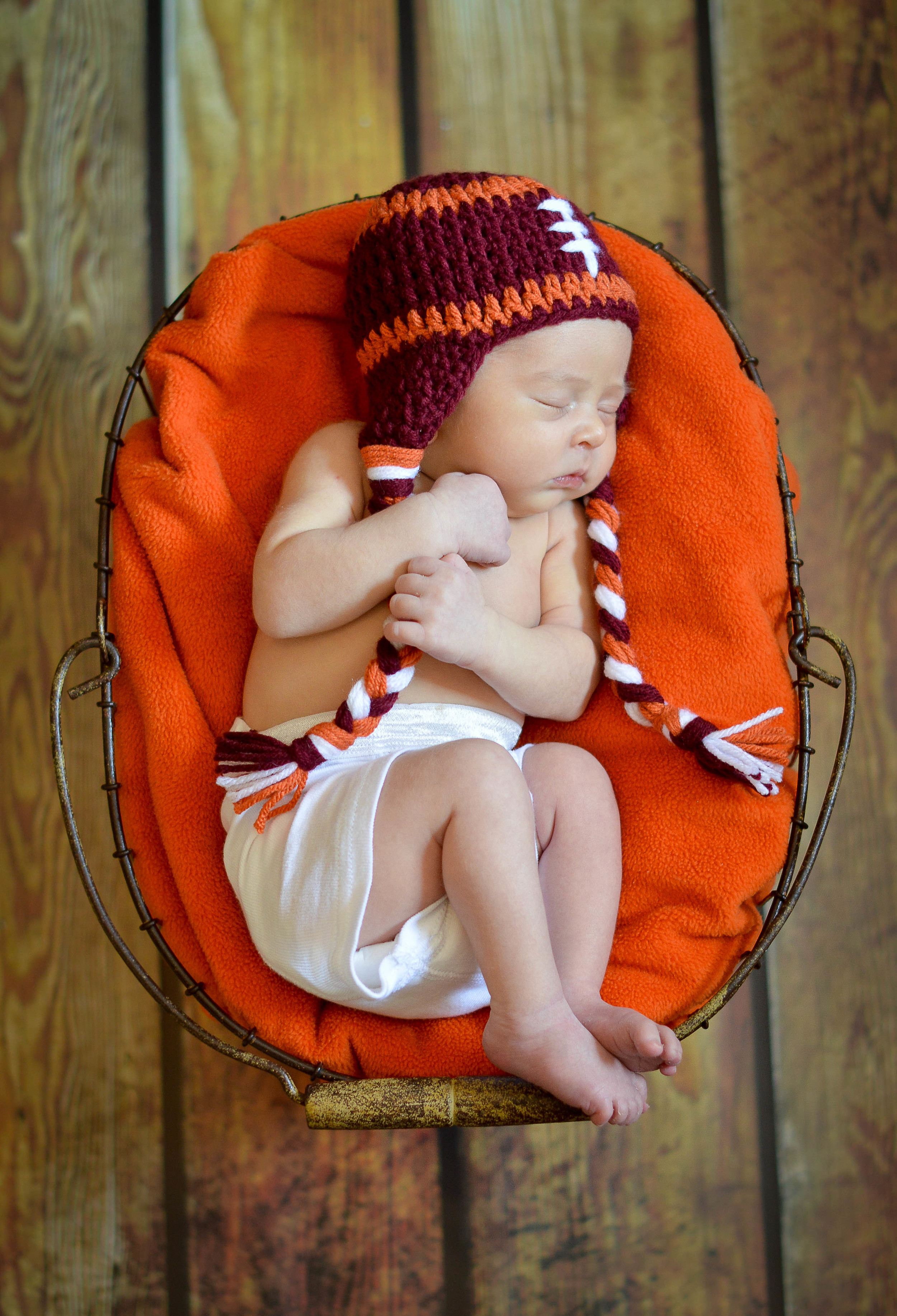 This litte guy was born to be a Hokie