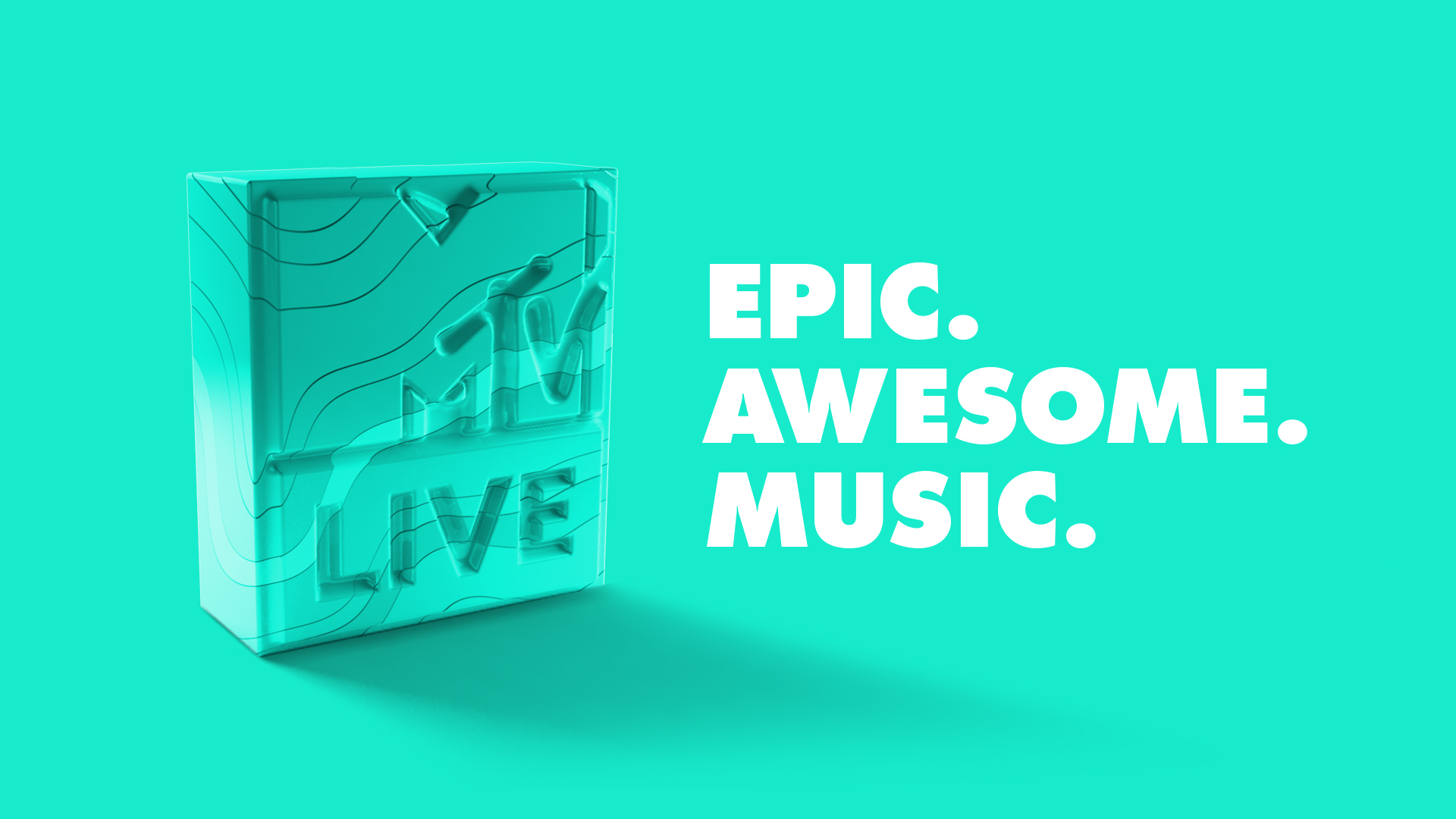 MTV LIVE REBRAND — harshit desai