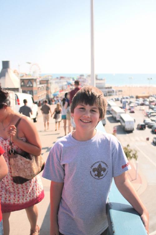 Arrived! Santa Monica Pier