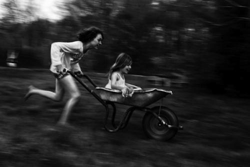Alain Laboile's La Famille series via  Design Mom