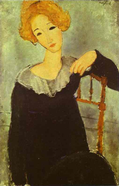 Modigliani's Woman with Red Hair