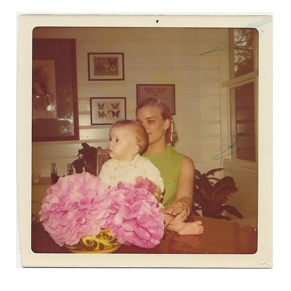 My mom and I circa 1971.