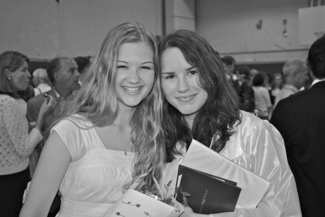 Lauren, HS graduation, 2011